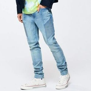 B2G1 Pacsun Stacked Skinny Light Wash Jeans